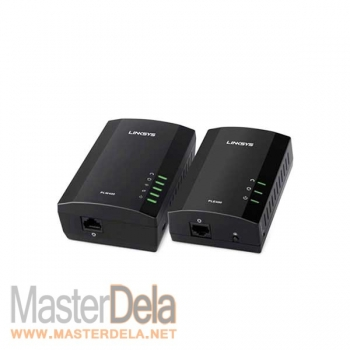Адаптер Powerline Wireless Network Extender Kit, Linksys PLWK400