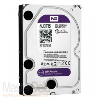Жесткий диск Western Digital WD40PURX Purple, 4ТБ