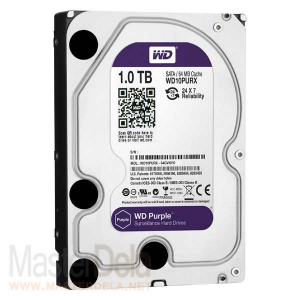 Жесткий диск Western Digital WD10PURX Purple, 1ТБ