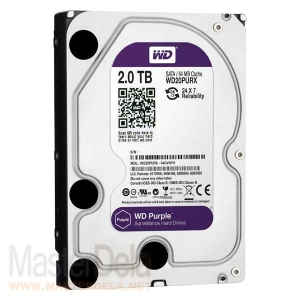 Жесткий диск Western Digital WD20PURX Purple, 2ТБ