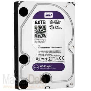 Жесткий диск Western Digital  WD60PURX Purple, 6ТБ
